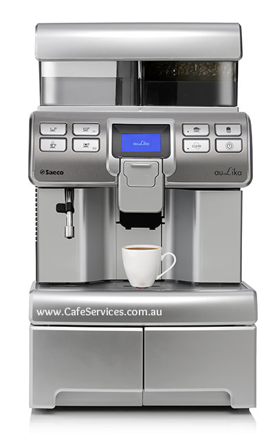 Get the new Saeco Aulika from Complete cafe Services